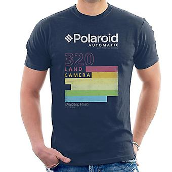 Polaroid Automatic 320 Strisce Colorate Uomini'S T-Shirt