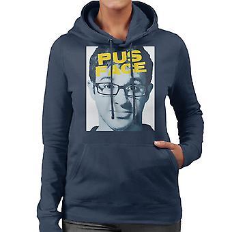 Friday Night Dinner Adam Pus Face Women's Hooded Sweatshirt