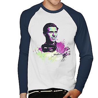 モータースポーツ画像 ジム・クラーク・メン&アポスの肖像画;s野球ロングスリーブTシャツ