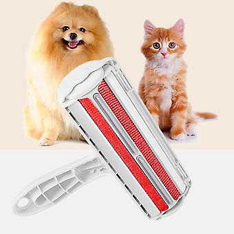 2 Way Pets Hair Removing Roller - Pies Cat Akcesoria Grooming Brush
