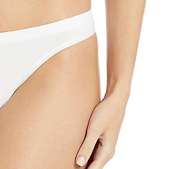 Brand - Mae Women's Seamless Thong, 5 pack, Sort/Praline/Hvid,Stor