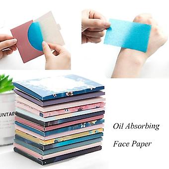 Makeup Tissue Papers Cleansing Oil - Absorbing  Blotting Facial Cleanser  For Oily Skin