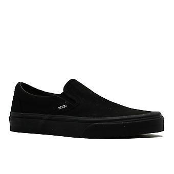 Vans - Classic Slip On - Black/Black - Vn000eyebka - Shoes