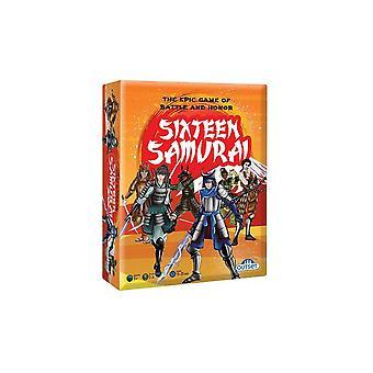 Sixteen samurai - the game of battle & honor