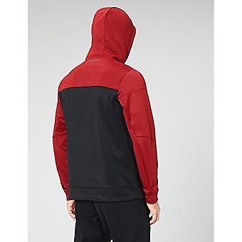 Peak Velocity Men's Quantum Fleece Full-Zip Loose-Fit Hoodie, torque red heat...