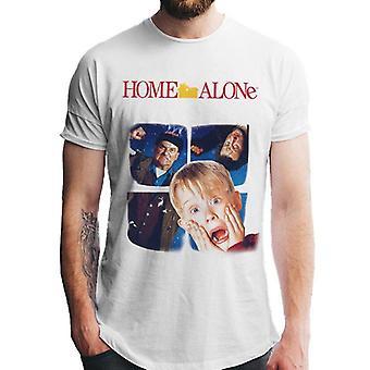 Home Alone Unisex Adults Window Print T-Shirt