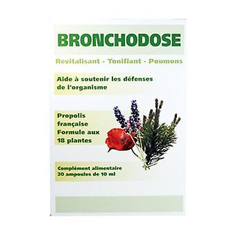 Bronchodose BIO 20 ampoules de 10ml