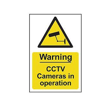 Upozornění na skenování CCTV kamery v provozu - PVC 200 x 300mm SCA1311