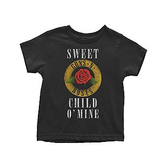 Guns N Roses Toddler T Shirt Sweet Child O' Mine Official 12 months to 5 yrs