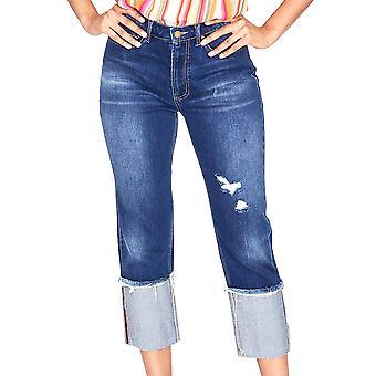 RACHEL Rachel Roy | March High Rise pantalones vaqueros de puño ancho