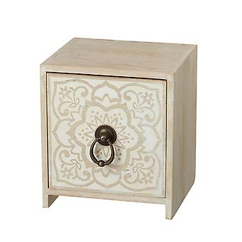 Mini 1 Drawer Cabinet With Patterned Front By Heaven Sends