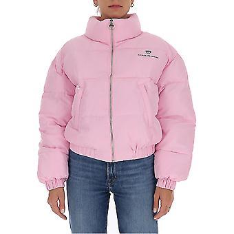 Chiara Ferragni Cfd018pnk Femmes's Pink Nylon Down Jacket