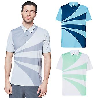 Oakley Mens 2020 Geometrische Swing UV Protection Polo Shirt