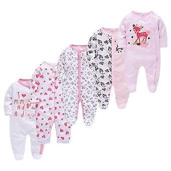Baby Mädchen junge Pijamas Fille Baumwolle atmungsaktive weiche Neugeborene Sleepers Pyjamas