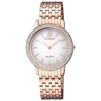 Ladies Watch Citizen EX1483-84A, Quartz, 29mm, 5ATM