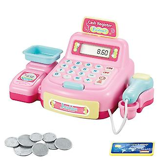 Pretend Cash Register, Shopping Cashier Role Play Game Set