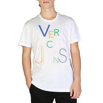 Versace jeans - b3gsb74a - men's korta ärmar t-shirt