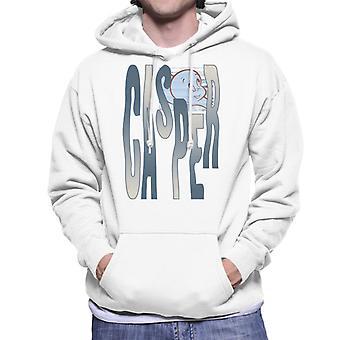 Casper The Friendly Ghost Spooky Waves Men's Hooded Sweatshirt