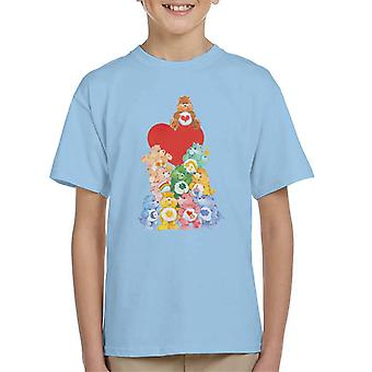 Care Björnar Den ursprungliga 10 Kid's T-Shirt