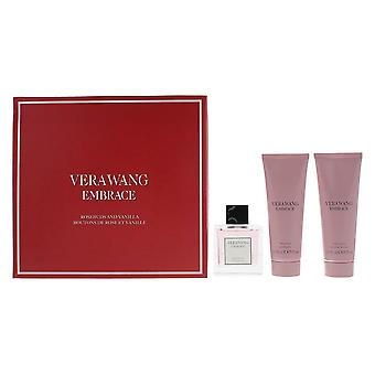 Vera Wang Embrace Rosebuds & Vanilla EDT 30ml, Shower Gel 75ml, Body Lotion 75ml