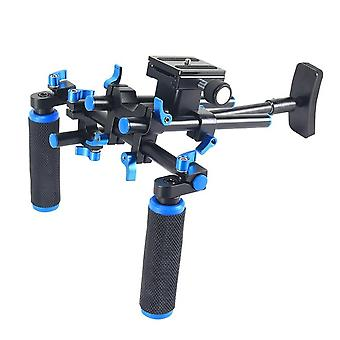 YELANGU YLG0102E Dual Handles Free Camera Shoulder Mount Kit