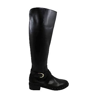 INC International Concepts Womens Fadora Leather Round Toe Knee High Fashion Boots