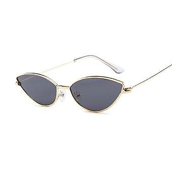 Cute Sexy Cat Eye Sunglasses, Retro Small Cat Eye Sunglasses Vintage Shades