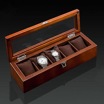 New Wood Watch Display Box, Organizer, Wooden Case For Jewelry