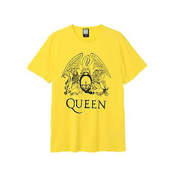 Versterkt Queen Line Art Crest T-shirt