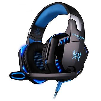 Over-ear Wired Gaming Headphones With Microphone For Ps4