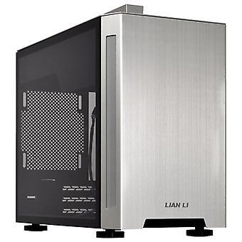 Lian-Li PC-TU150WA Aluminium Mini-ITX Case - Silver Window