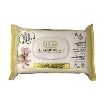 Delicate Baby Chamomile and Calendula Eco Wipes 60 units