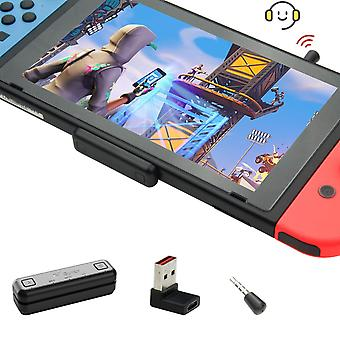 Gulikit route air pro bluetooth adapter for nintendo switch/switch lite ps4 pc, wireless bluetooth a