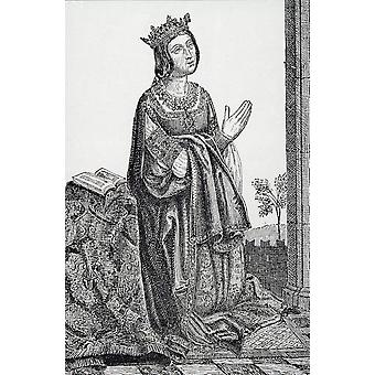 Isabella 1451-1504 Of Castile Called La Catolica PosterPrint