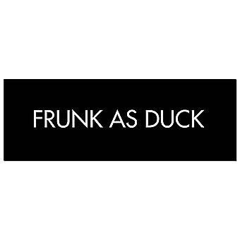 Hill Interiors Frunk As Duck Foil Plaque