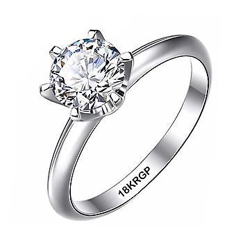 خاتم الماس الذهب الأبيض، خواتم الزفاف Pt