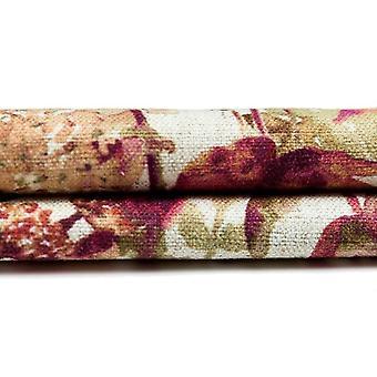 McAlister tekstiilit Wildflower palanut oranssi kangas näyte