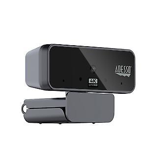 CyberTrack H6 Webcam 4K ULTRA HD - Autofokus Webcam - integriertes Dual-Mikrofon - Stativaufsatz