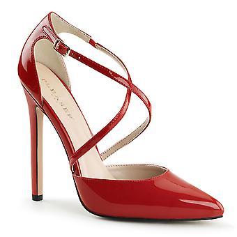 Pleaser zapatos sexy-26 pat rojo