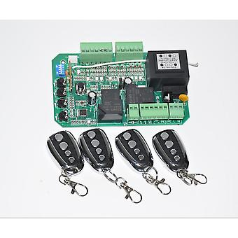 Automatic Ac Sliding Gate Opener Motor Control Board Card Power Controller