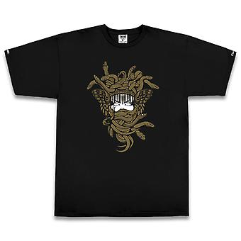 Crooks & Castles Gold OG Medusa T-shirt Black