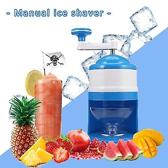 Huishouden Easy Ice Shaver Crusher Handheld Sneeuwt Handmatige Crushing Ice Machine