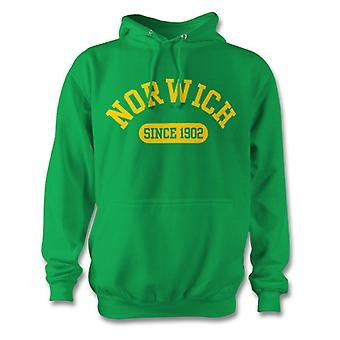 Norwich City 1902 Established Football Hoodie