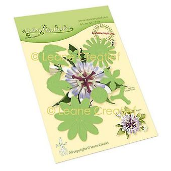 Lecrea - Leabilitie Passion Flower 21. Cut And Embossing Die 45.7279
