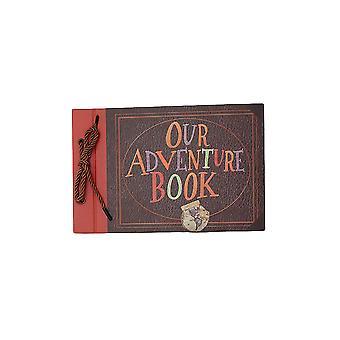 DIY Retro Scrapbook Fotoalbum pre výročie, svadba, cestovanie, promócie darček