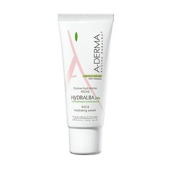 A-derma Hydralba Rich Moisturizing Cream 24H 40 ml of cream