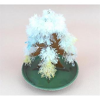 9x6cm Multicolor Magic Growing Paper Tree Toy Christmas Trees Educational Kids