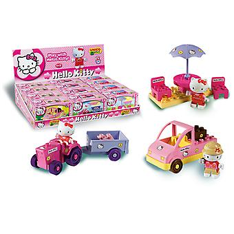 Hello kitty bricks and block set of 3(different boxes)
