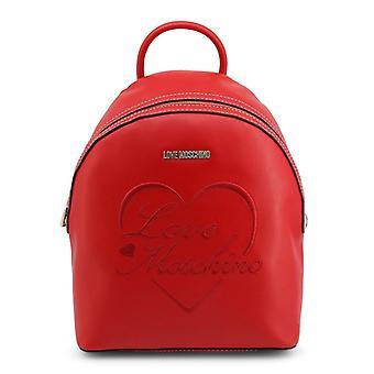 Älskar moschino kvinnors ryggsäck röd jc4022pp1blc