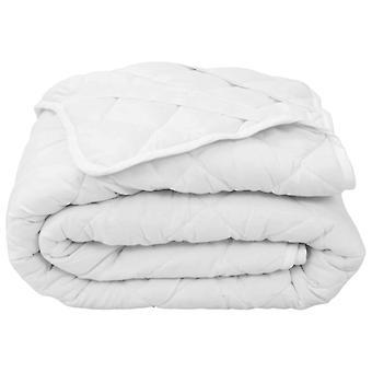vidaXL Mattress Saver Quilted White 160×200 cm Heavy